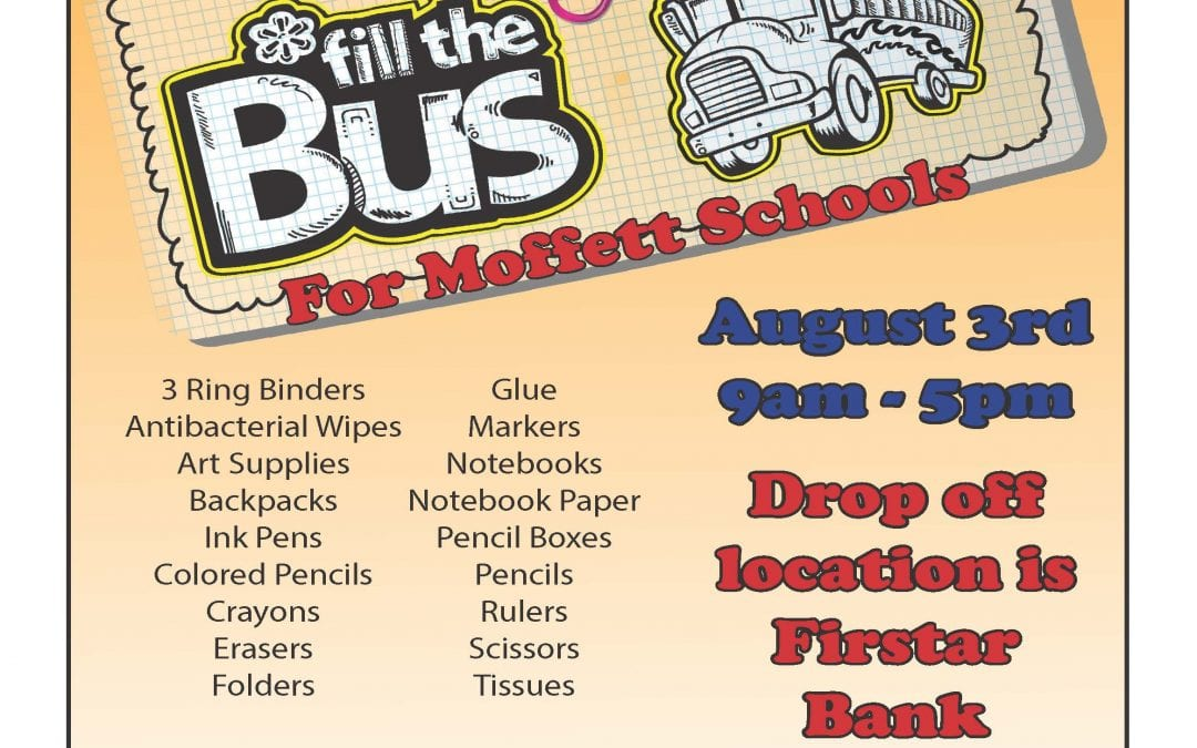 Fill the Bus for Moffett Schools