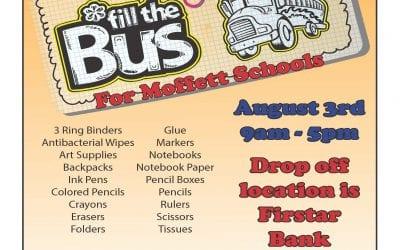 Fill the Bus for Moffett Schools