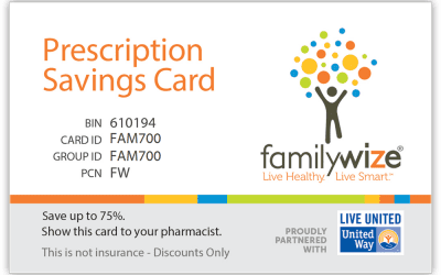 FamilyWize Prescription Savings Card
