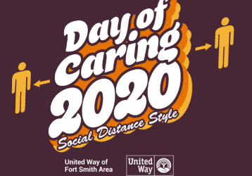 Order Your Day of Caring Social Distance Style T-Shirt