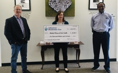 Arkansas Oklahoma Gas Gives $10K to United Way  Area COVID-19 Response Fund