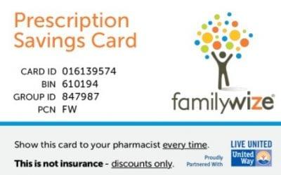 FamilyWize Prescription Discount Card